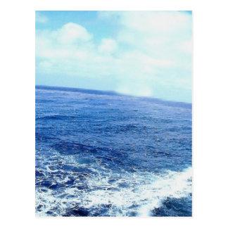 Pazifischer Ozean in La Jolla Postkarte