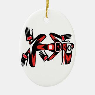 Pazifischer Schutz Keramik Ornament