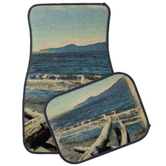 Pazifischer Strand Autofußmatte