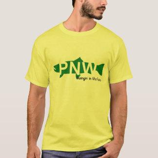 Pazifisches Nordweststahlt-stück T-Shirt