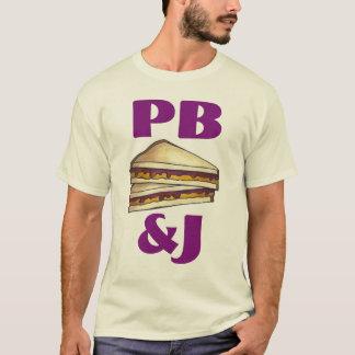 PB&J Erdnussbutter und Gelee-Sandwich-T - Shirt