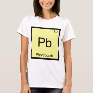 Pb - Photobomb Chemie-Element-Symbol-T - Shirt