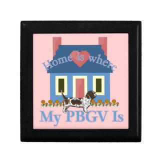 PBGV Zuhause ist Erinnerungskiste