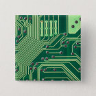 PC Brett Quadratischer Button 5,1 Cm