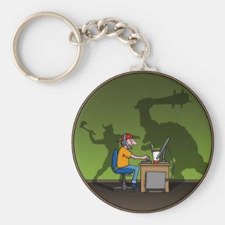 PC Gamer Schlüsselanhänger