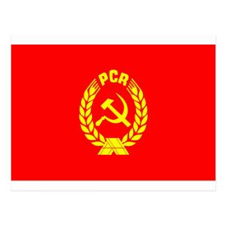 Pcr-Flagge Postkarte