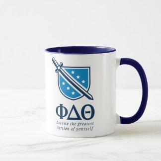 PDT - Gestapelt das bestste Blau 1 geworden Tasse