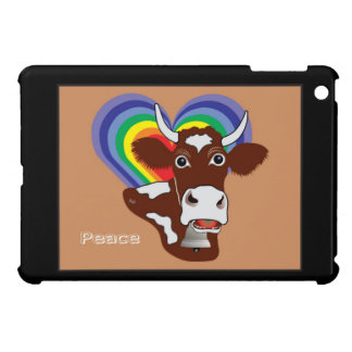 Peace - Frieden Kuh iPad Mini Hülle