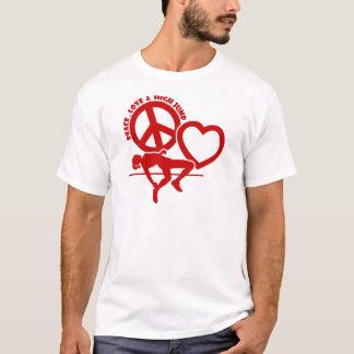 PEACE-LOVE-HIGH SPRUNG T-Shirt