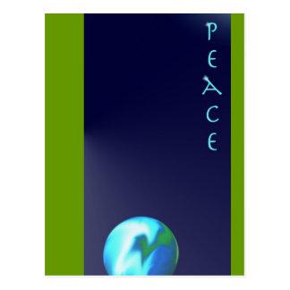 Peace Postkarte
