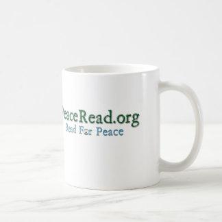 PeaceRead.Org Kaffee-Tasse Kaffeetasse