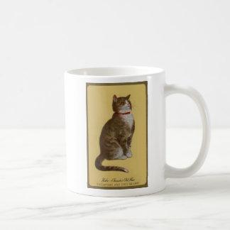 Peake, Chessies alter Mann Tomcat Tabbykatze Kaffeetasse