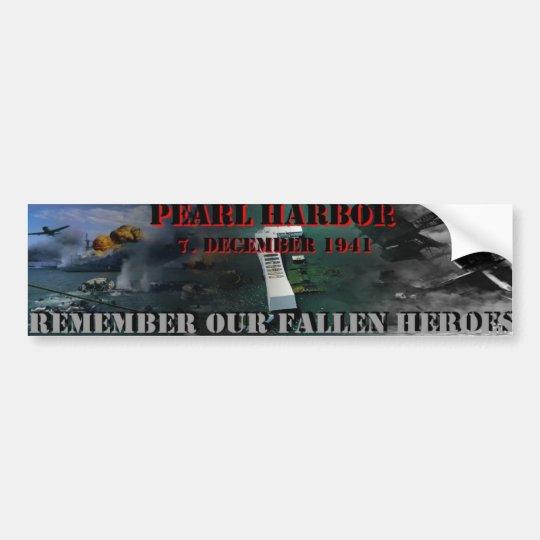 Pearl Harbor Autoaufkleber