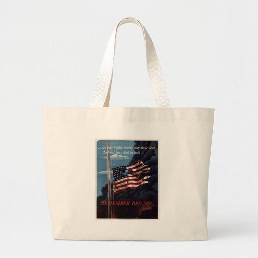 Pearl Harbor Einkaufstasche