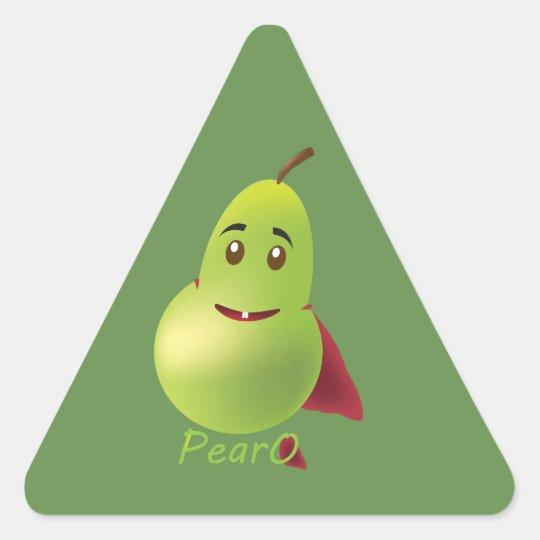 PearO the Hero Pear - sticker