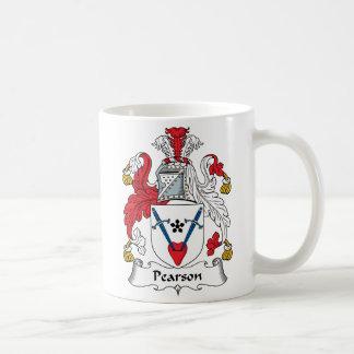 Pearson-Familienwappen Kaffeetasse