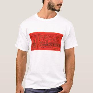 Pearson rote Spitzen-Schnüffeln Vintag T-Shirt