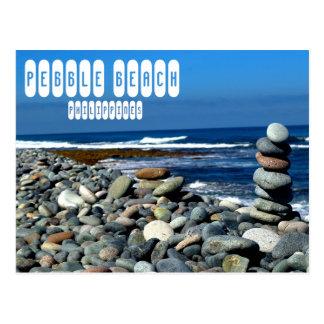 Pebble- Beachpostkarte Postkarte