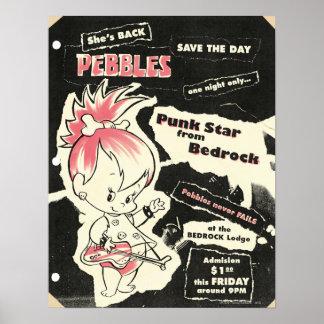 PEBBLES™ Punkrock-Legende Poster