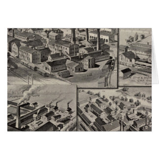 Peck-, Laderaum- u. Wilcoxfabriken Karte