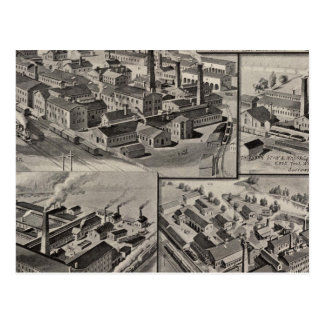 Peck-, Laderaum- u. Wilcoxfabriken Postkarte