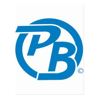 Pecky Boyz Logo Identifikation Postkarte