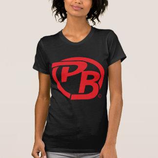 Pecky Boyz Logo Identifikations-Rot T-Shirt