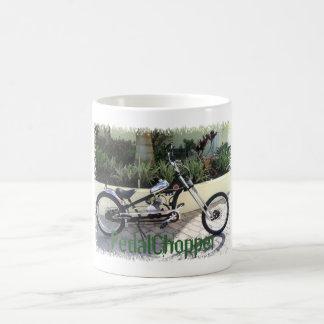 PedalChopper motorisierte Chopper-Fahrrad Kaffeetasse