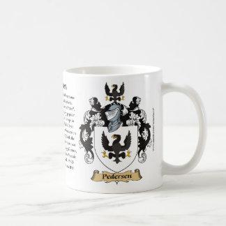 Pedersen, der Ursprung, die Bedeutung und das Kaffeetasse