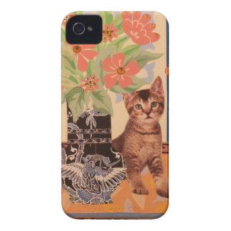 Peekaboo-Kätzchen: Niedlicher BlackBerry-Kasten Case-Mate iPhone 4 Hüllen