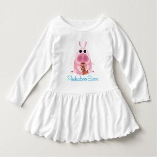 Peekaboo-Scheune Ostern | misstrauisch das Schwein Kleid