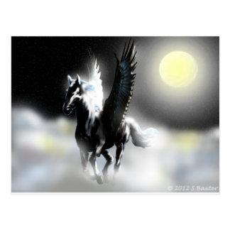 Pegasus des Mondes Postkarte