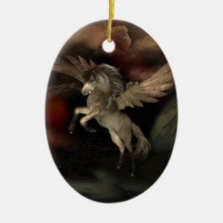 Pegasus-Gewohnheits-Verzierung Keramik Ornament