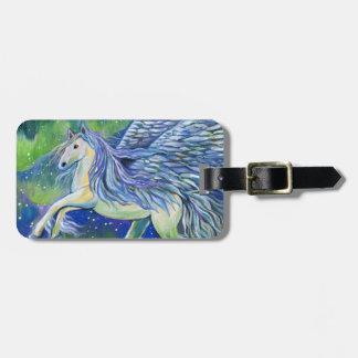 Pegasus im Nordlicht Gepäckanhänger