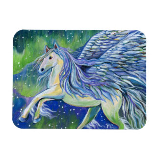 Pegasus im Nordlicht Magnet