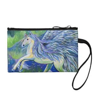 Pegasus im Nordlicht Münzbörse