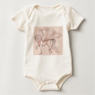 Pegasus-Pferd, Pony, Pegasus, Einhorn, magisch Baby Strampler