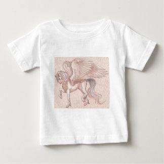 Pegasus-Pferd, Pony, Pegasus, Einhorn, magisch Baby T-shirt