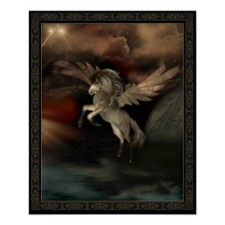 Pegasus-Plakat Poster