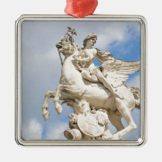 Pegasus Silbernes Ornament