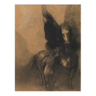 Pegasus und Bellerophon Postkarte