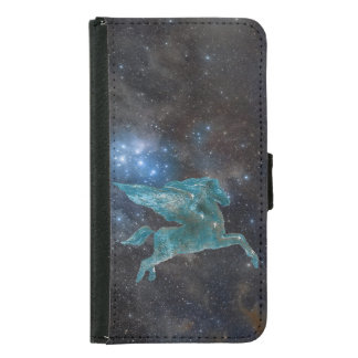 Pegasus und Galaxie Geldbeutel Hülle Für Das Samsung Galaxy S5