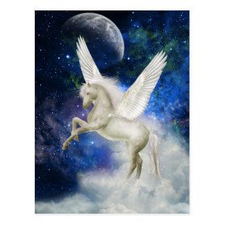 Pegasus-Universum-Postkarte Postkarte