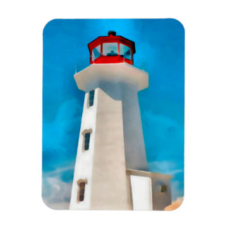 Peggy Bucht-Leuchtturm Magnet