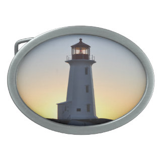 Peggy Bucht-Leuchtturm-WegGürtelschnalle Ovale Gürtelschnallen