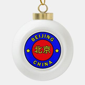 Peking-China Keramik Kugel-Ornament