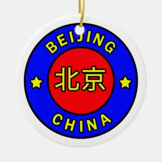 Peking-China Keramik Ornament
