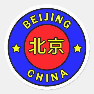 Peking-China Runder Aufkleber