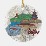 Peking Weihnachtsbaum Ornament