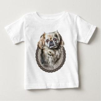 Pekingese 001 baby t-shirt